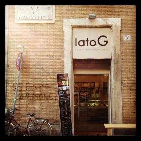 Peanut butter Ice Cream # Lato G ou les saveurs du monde dans votregelato