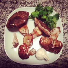 Dans ma cuisine #Linguine aux cèpes etautres