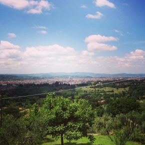 Mariage sur les hauteurs de Fiesole #PensioneBencistà